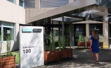 voorkant gebouw europalaan 100